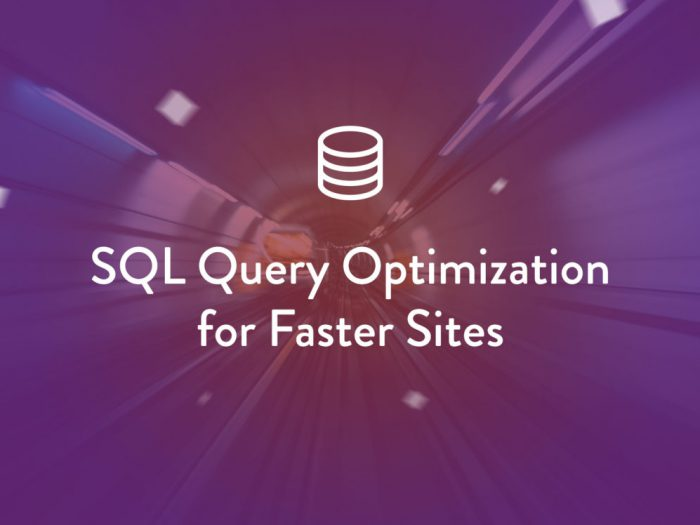 SQL Query Optimization